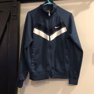 A Nike zip up lightweight jacket